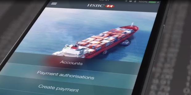 HSBC business banking app