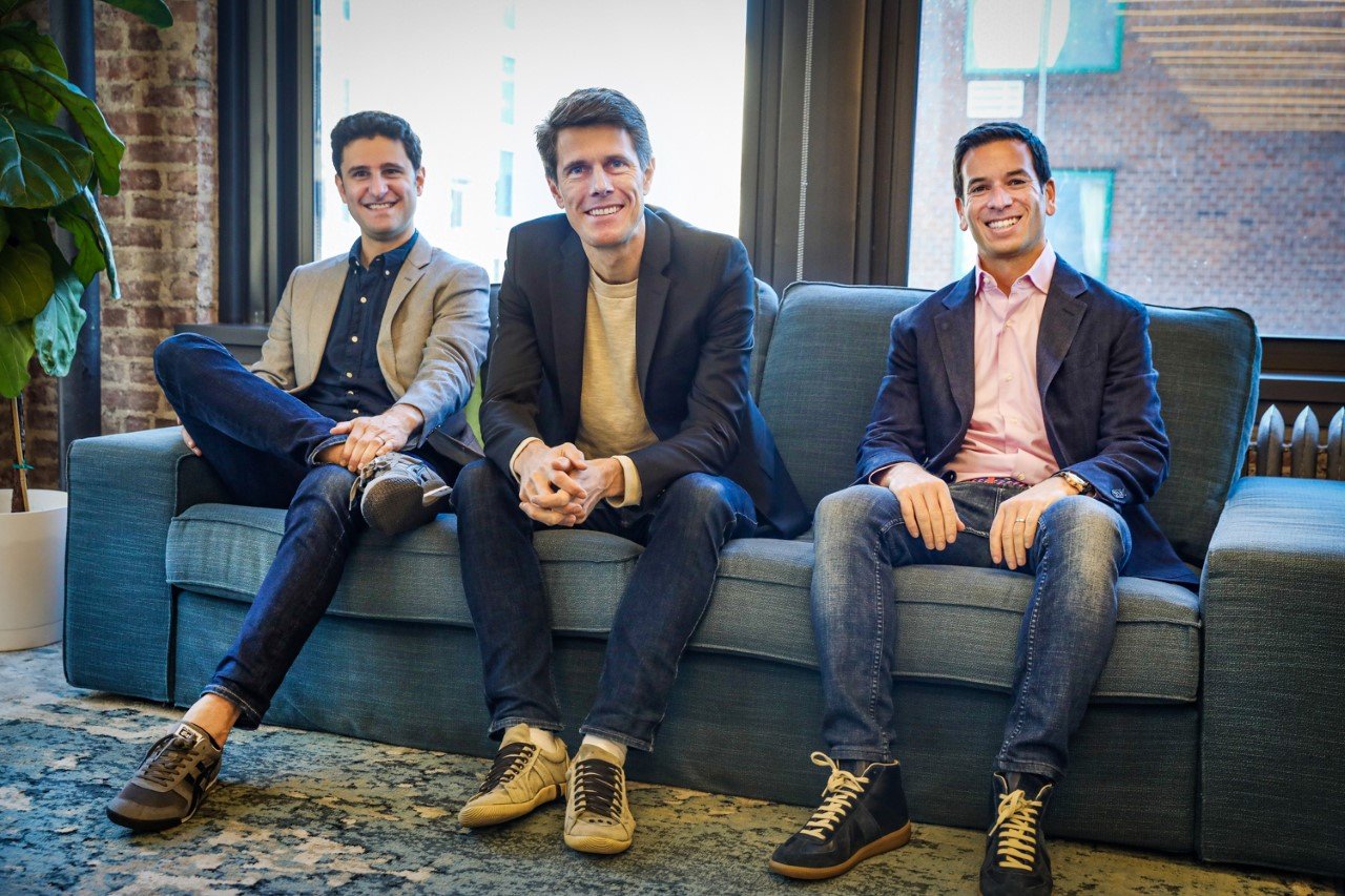 Cedar's co-founders Arel Lidow and Florian Otto, and OODA co-founder Seth Cohen