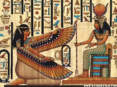 In Ancient Egyptian mythology, Isis used magic to resurrect her dead husband Osiris