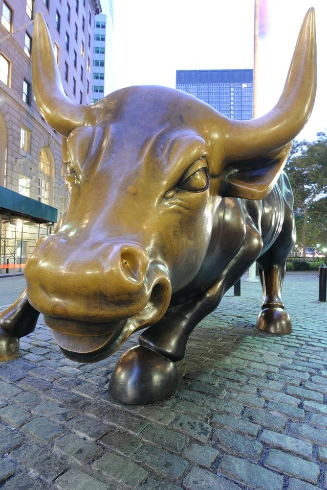 New York Wall Street Bull