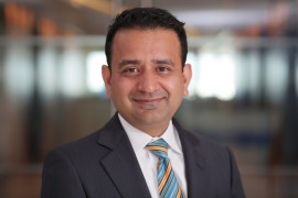 Mohit Joshi. is executive vice president and global head of financial services at Infosys