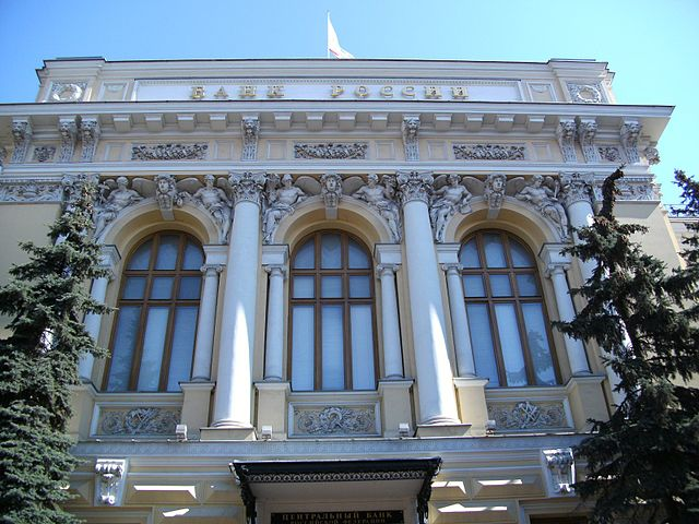 Russia' Central Bank is taking measures