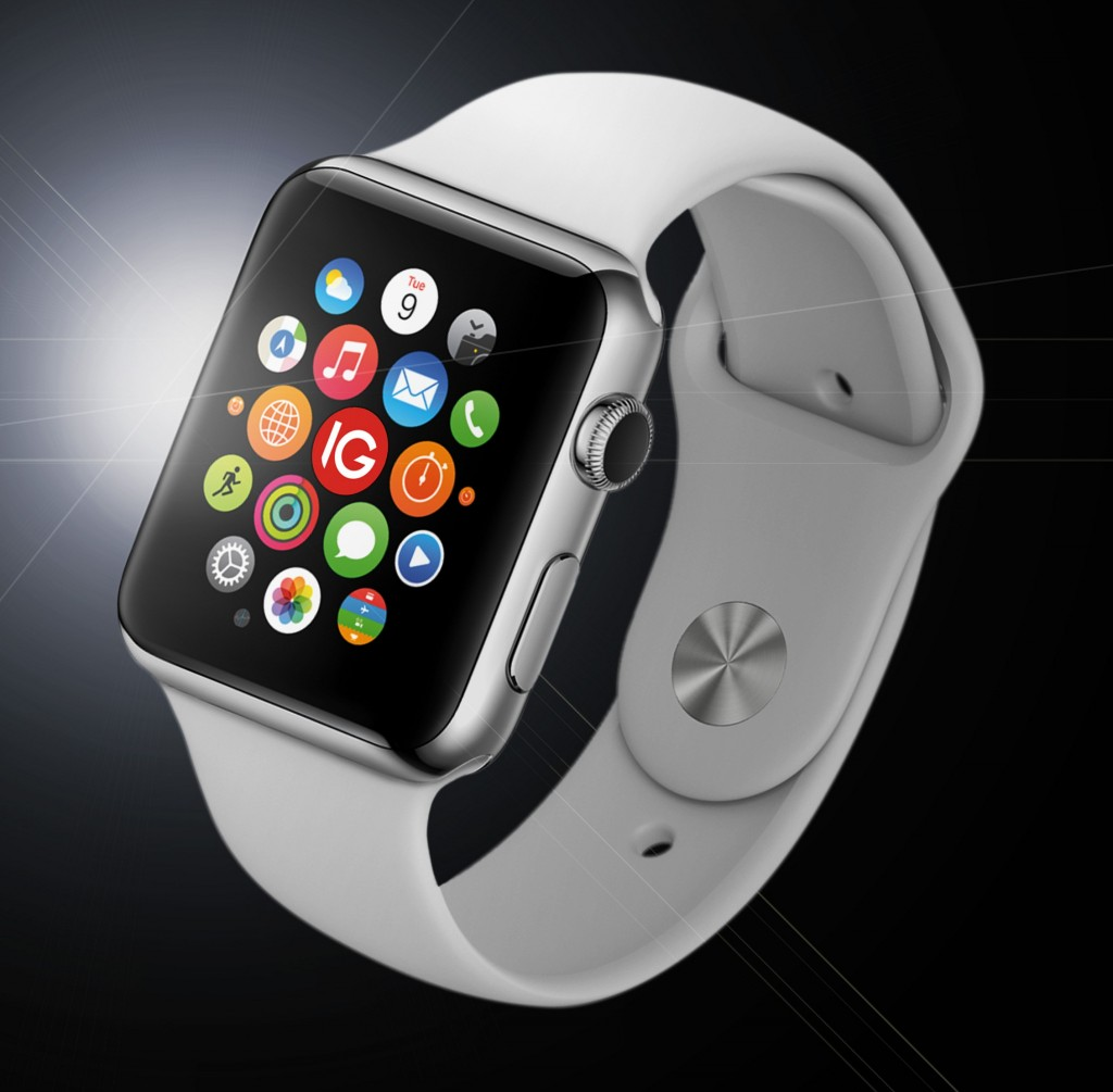 The Apple Watch is due to launch on 24 April